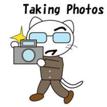 Serious cat GARIO sticker #411281
