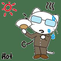 Serious cat GARIO sticker #411285