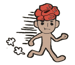 Flower people sticker #411592