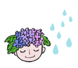 Flower people sticker #411595