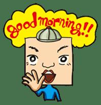 GoGo!! Kokubo-kun sticker #412217