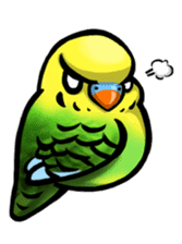 The parrot's name is Gabi & his friends sticker #412278