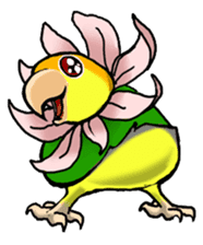 The parrot's name is Gabi & his friends sticker #412283