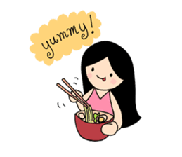 Happy Everyday with Little Tum+ sticker #412594