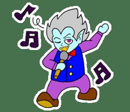 Clunker Dracula sticker #413001