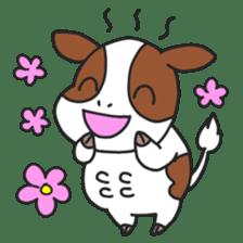 Love cows   Onpu-chan&Friends sticker #413057