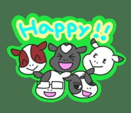 Love cows   Onpu-chan&Friends sticker #413063