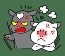 Love cows   Onpu-chan&Friends sticker #413084