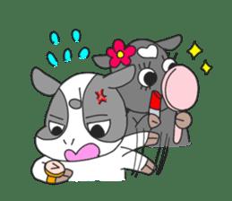 Love cows   Onpu-chan&Friends sticker #413089