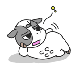 Love cows   Onpu-chan&Friends sticker #413093