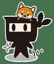 Ninja-kun sticker #413257