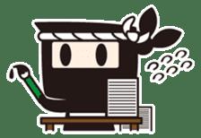 Ninja-kun sticker #413268