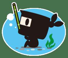 Ninja-kun sticker #413269