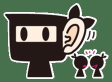Ninja-kun sticker #413275
