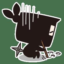 Ninja-kun sticker #413277