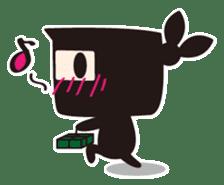Ninja-kun sticker #413280
