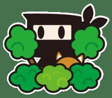 Ninja-kun sticker #413291