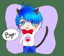Kou Cat sticker #413297