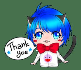 Kou Cat sticker #413308