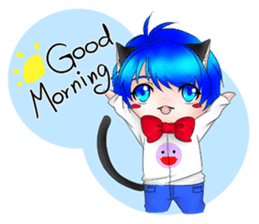 Kou Cat sticker #413309