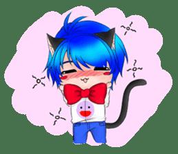 Kou Cat sticker #413315
