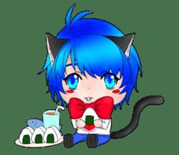 Kou Cat sticker #413328