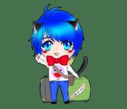 Kou Cat sticker #413329