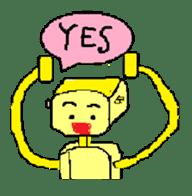 Let's enjoy English conversation!! sticker #413507
