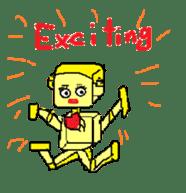 Let's enjoy English conversation!! sticker #413521