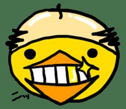 Headdress Japanese OYAJI sticker #413938