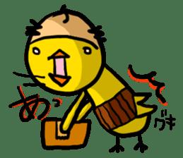 Headdress Japanese OYAJI sticker #413940