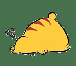 Goofy cat sticker #414741