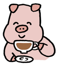 A Happy Pig sticker #414798
