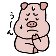 A Happy Pig sticker #414802