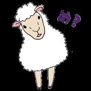 สติ๊กเกอร์ไลน์ Modern Stray Sheep