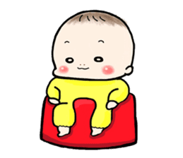 Chibitan stamp sticker #415764