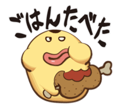 Pudding Oyaji sticker #416025