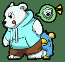 PoLa Bear(Basic) sticker #417369