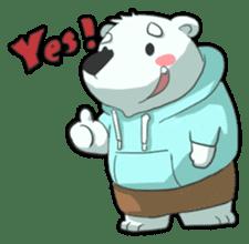 PoLa Bear(Basic) sticker #417377