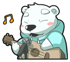 PoLa Bear(Basic) sticker #417399