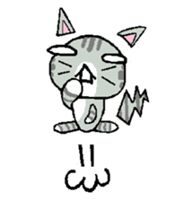 A lot of cats ! sticker #418514