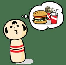 Kokeshi's Life sticker #418655