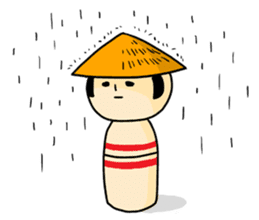 Kokeshi's Life sticker #418657