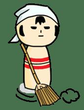 Kokeshi's Life sticker #418679