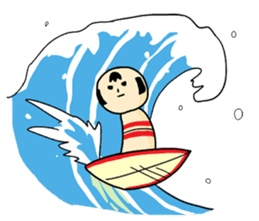 Kokeshi's Life sticker #418686