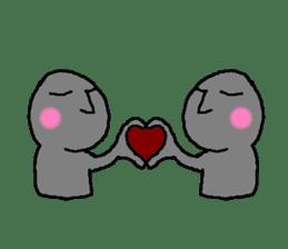 Mr.Moai sticker #418789