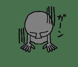 Mr.Moai sticker #418790