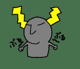 Mr.Moai sticker #418801