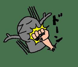 Mr.Moai sticker #418802