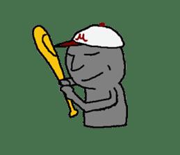 Mr.Moai sticker #418803